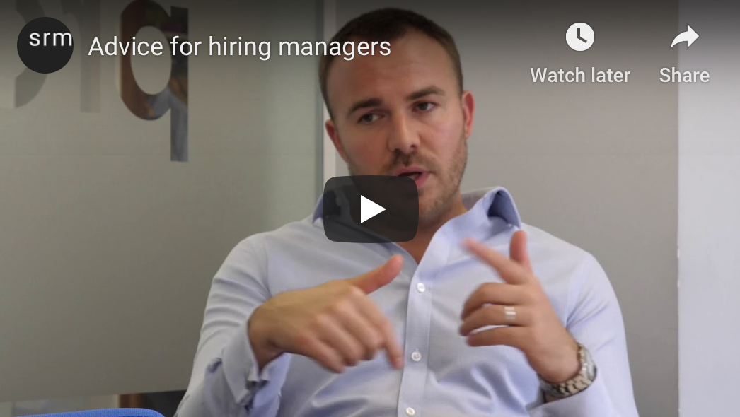 advice for hiring managers video